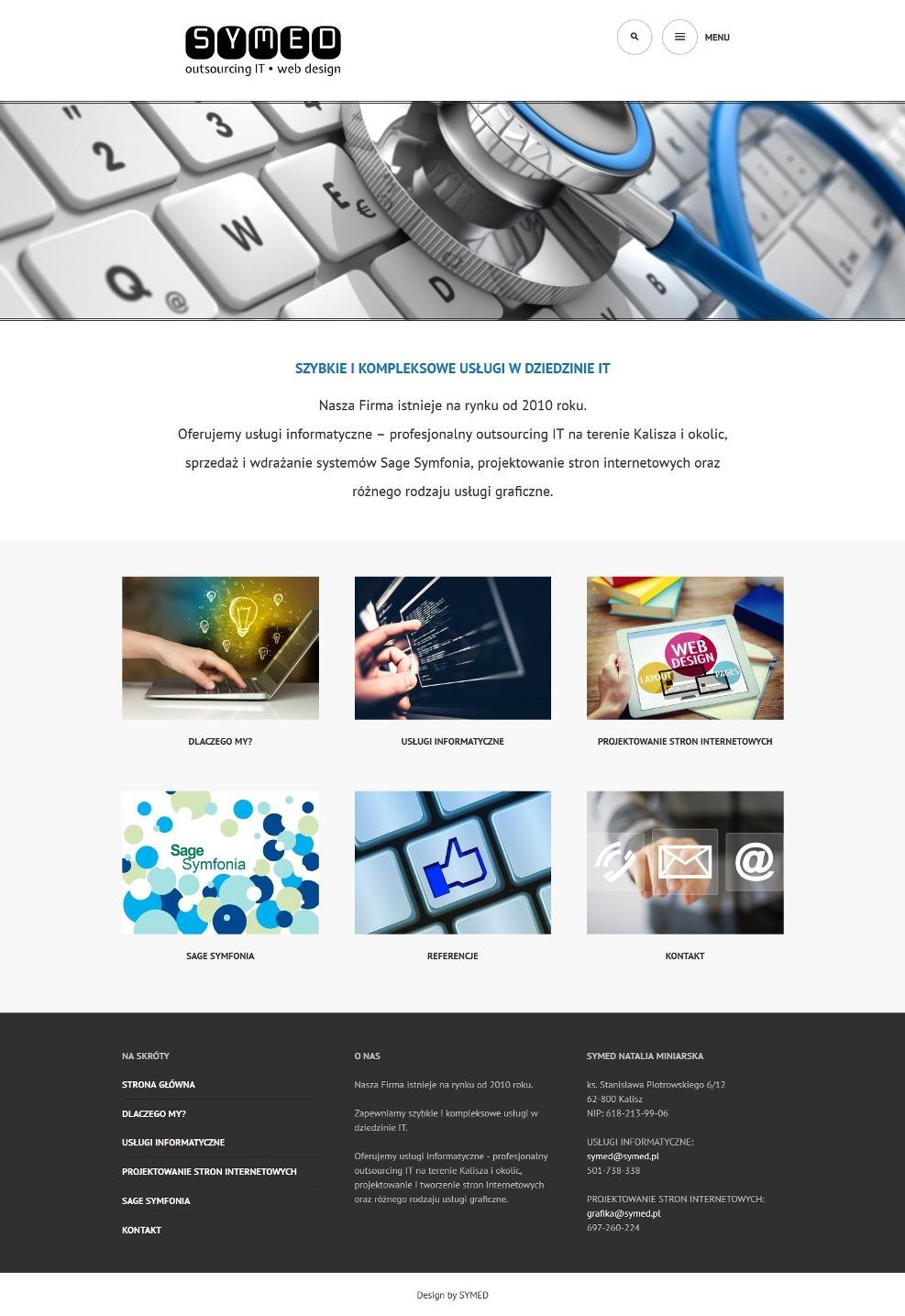 projektowanie stron internetowych Kalisz